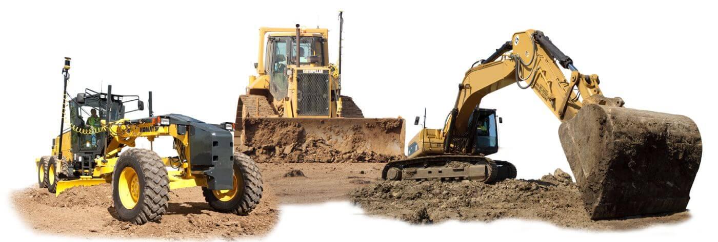 machine control for grader, dozer ,excavator