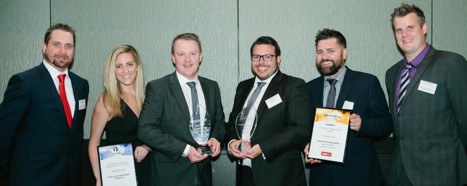 Position Partners wins National Product Innovation and External Training Program