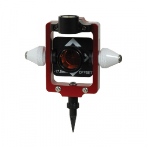 5910-02-ARD Seco 25mm -17.5 Offset Nodal Point Prism Pole System