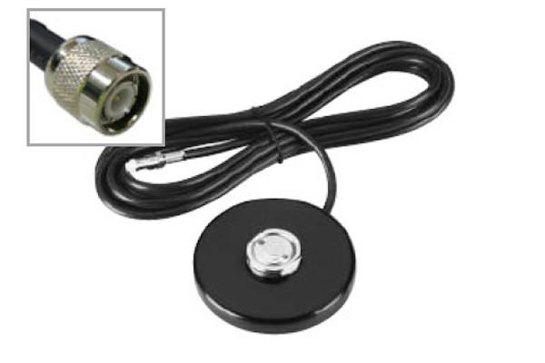Mag Base NMO, 4M Cable, TNC Male