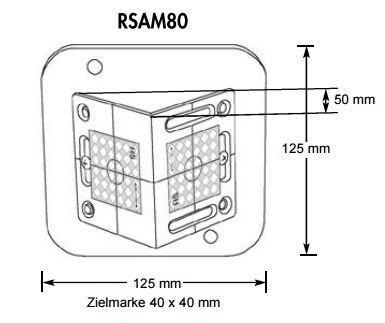 Smart Angle Targets RSAM80