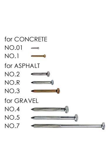 NO.R Survey Nail