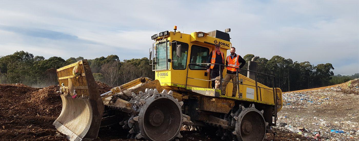 Dulverton landfill using Carlson
