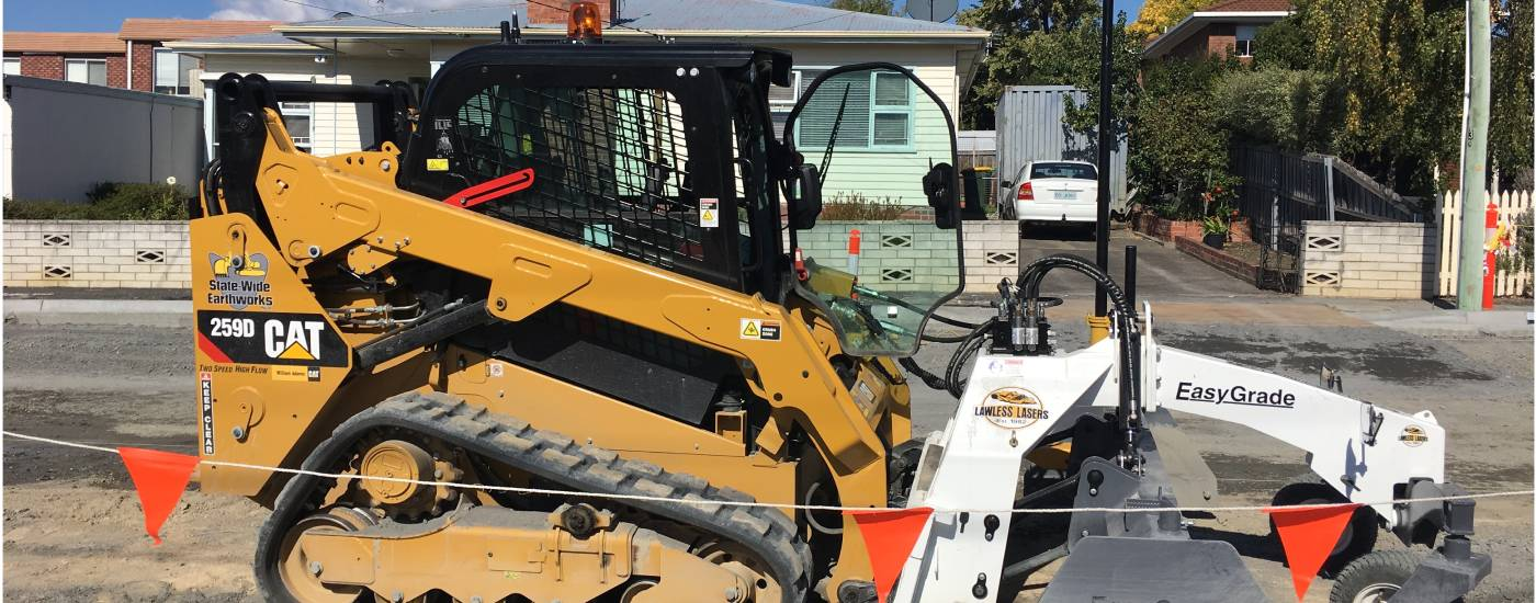 Statewide earthworks using topcon lps