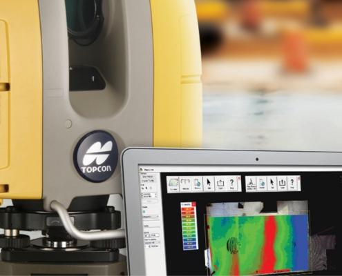 Topcon GLS 3D laser scanner
