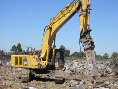 Topcon X-53 3D Excavator Machine Control