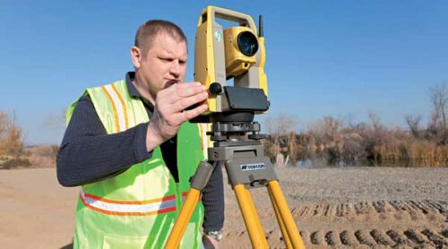 Topcon OS Series Compact Total Station | Position Partners
