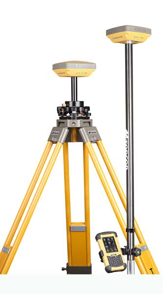 Topcon HiPer SR GNSS Receiver with Tripod   Position Partners