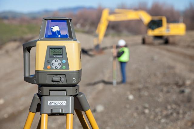 Topcon RL-200 Series Grade Laser from Position Partners