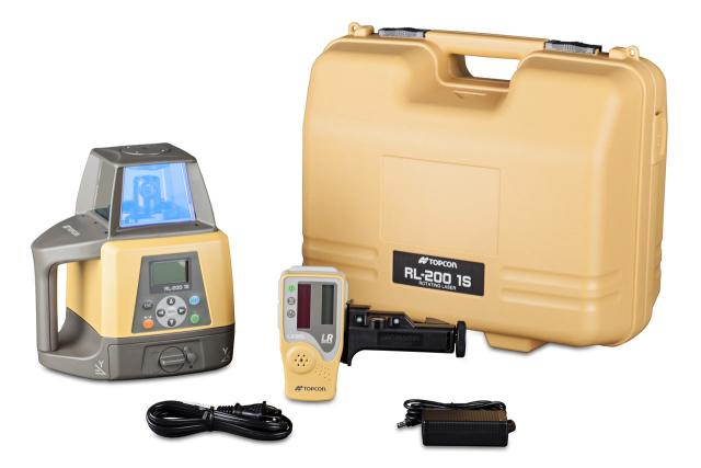 Topcon RL-200 Series Grade Laser for hire from Position Partners