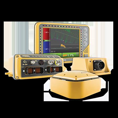 Topcon grade control for dozer