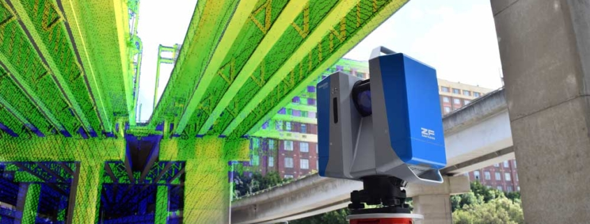 3D laser scanning bridge