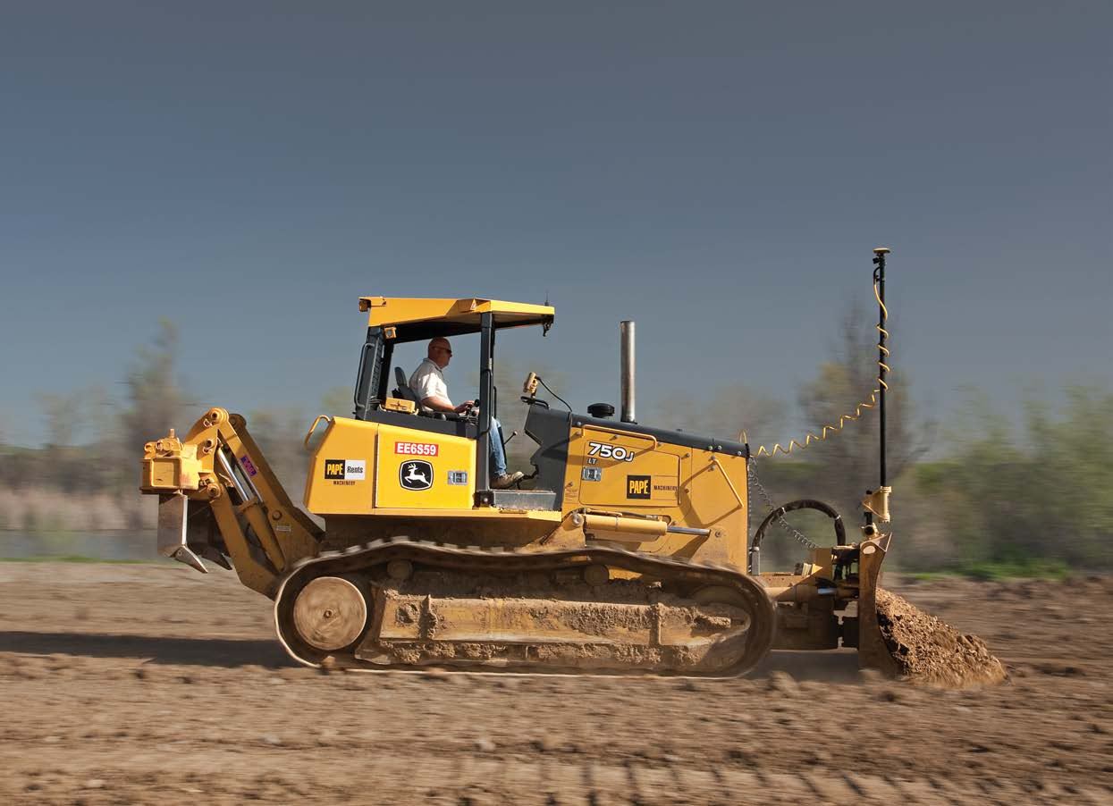 GPS Grade control for Dozer from position partners