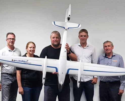 Quantum Trinity F9 survey drone Fyfe