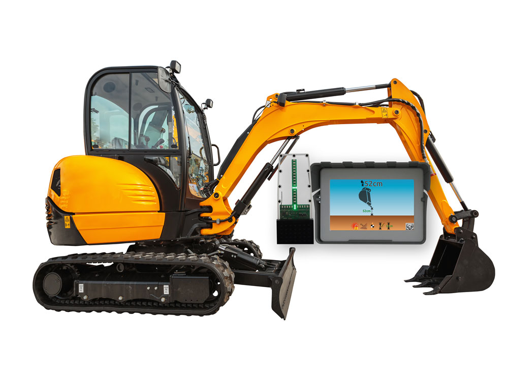 iDig Touch | 2d Excavator Grader Control | Position Partners