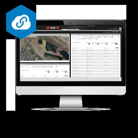 Topcon Sitelink3D V2 Site Management System