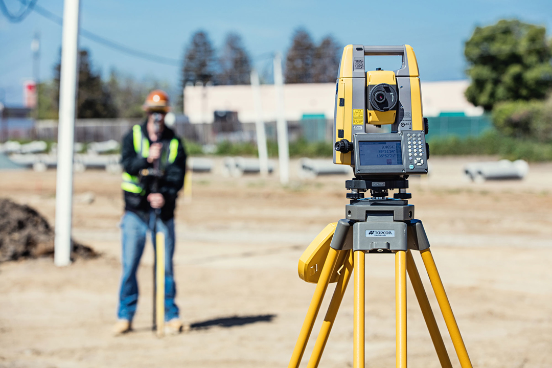 Total Station for surveying   position Partners