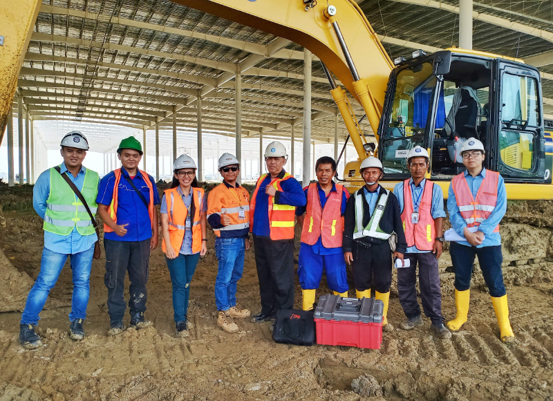 Indonesia contractor embraces technology