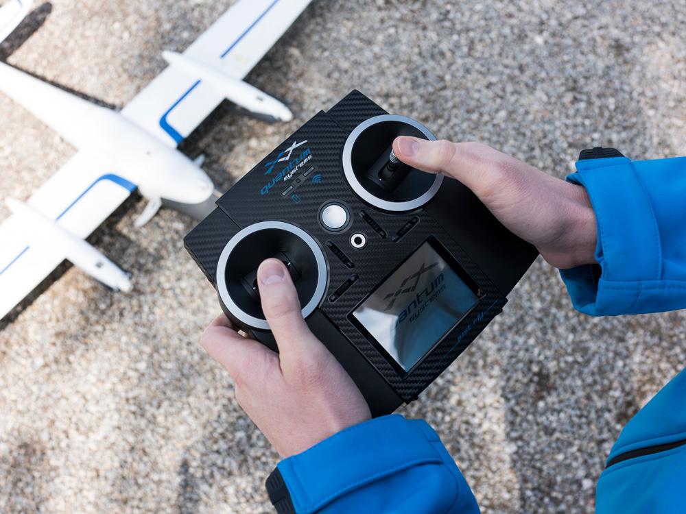 Survey drone training remote control