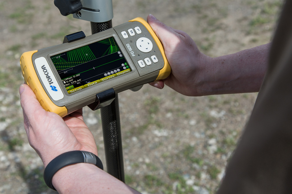 Basic GPS Rover Operator
