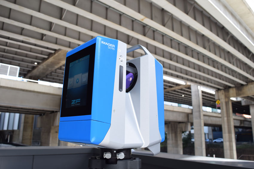 z+f Imager 5016 3d laser scanner