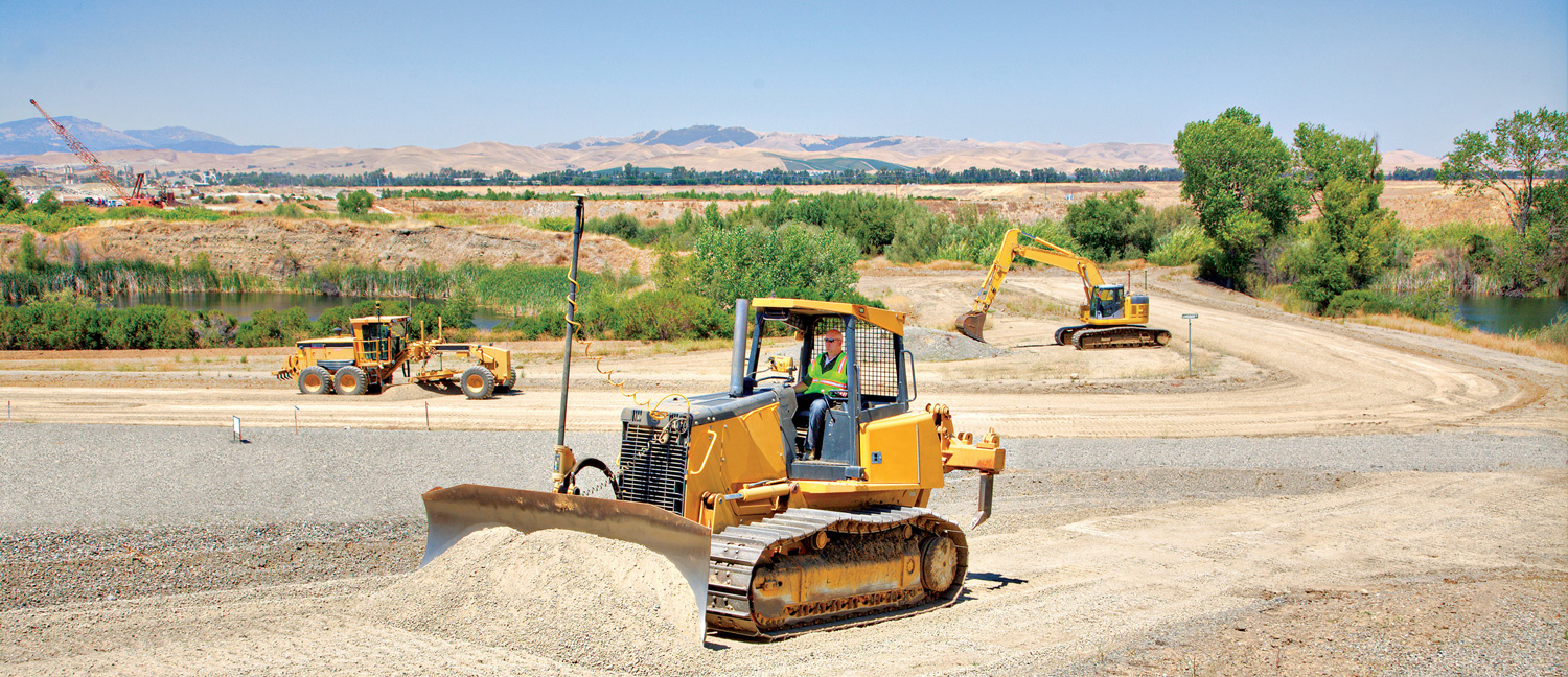 Earthworks technology solutions for construction machines