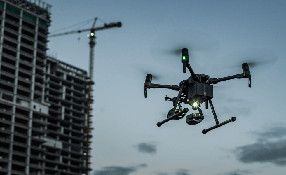 Drones for construction available at position partners