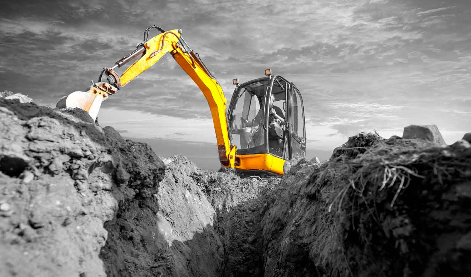 iDig 2d Excavator Grade Control Systems   Position Partners