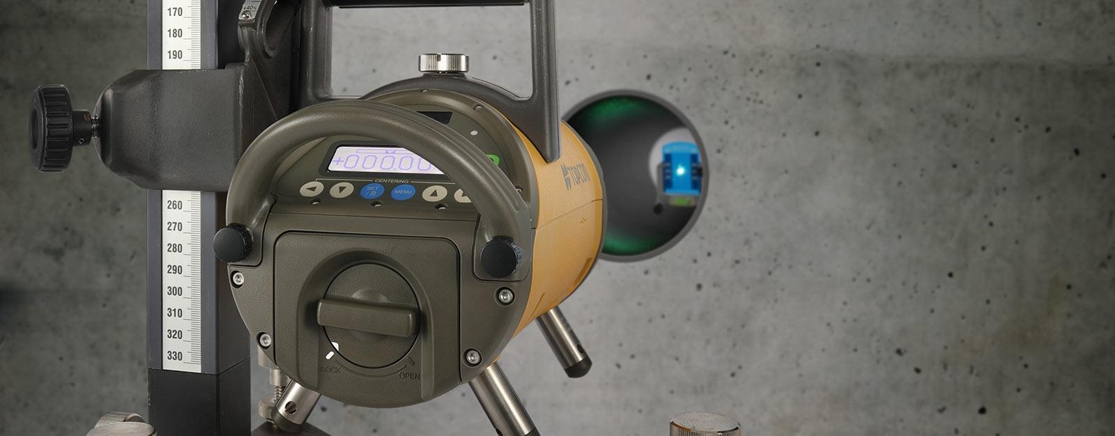 Topcon pipe laser