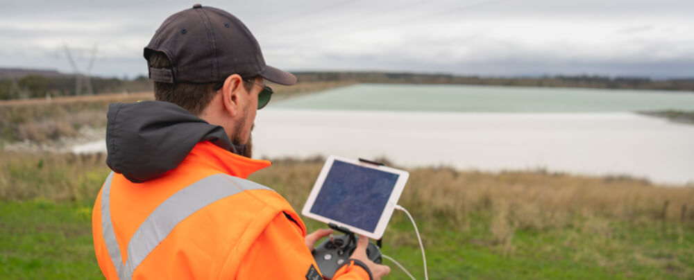 Drones for construction in Australia | position partners