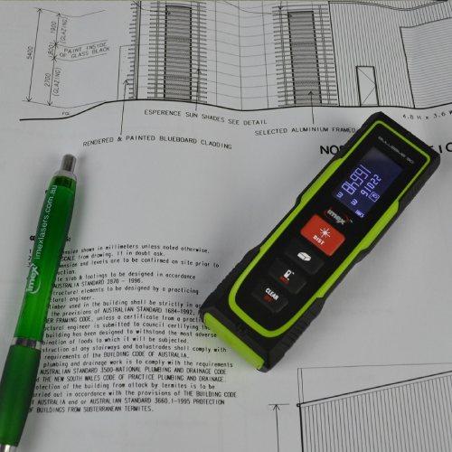 Imex Bullseye 30 Laser Distance Measurer