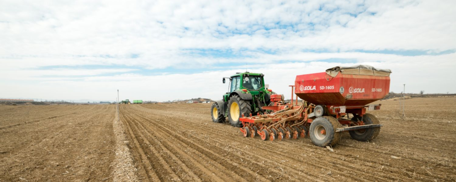 RTK being used in agriculture