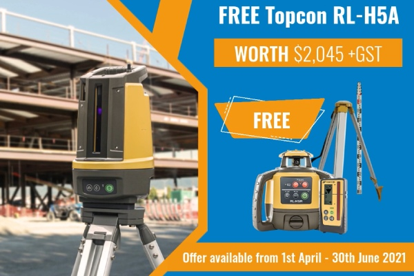 Free topcon laser with LN-150 total station