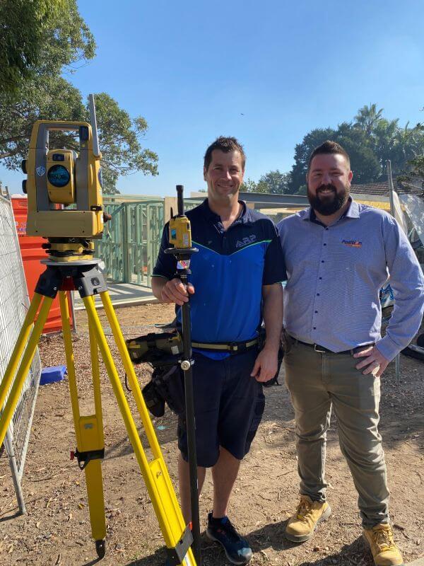 Topcon total station | ARP Surveyors