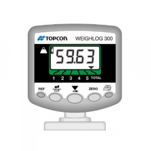 Topcon weighlog 300 loader scale, Forklift scale