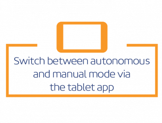 Switch Between Autonomous and Manual Mode